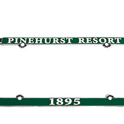 Pinehurst License Plate Cover