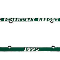 Pinehurst License Plate Cover_THUMBNAIL
