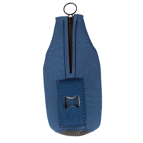 Bottle Koozie w/opener - Navy SWATCH