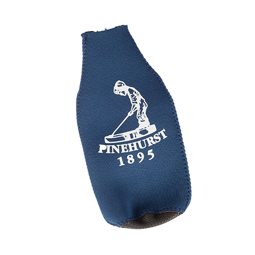 Bottle Koozie w/opener - Navy LARGE