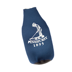 Bottle Koozie w/opener - Navy THUMBNAIL