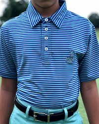 Ralph Lauren - Youth Boy's Lightweight Airflow Polo THUMBNAIL