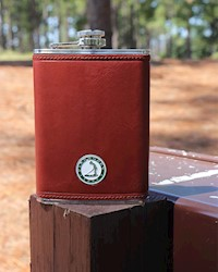 Putter Boy Leather Flask THUMBNAIL