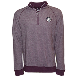 Men's Spinnaker Heather Stripe Pullover_MAIN