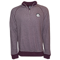 Men's Spinnaker Heather Stripe Pullover THUMBNAIL
