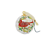 Kitty Keller Designs Cardinal Pinehurst Cloisonne Mini-Thumbnail
