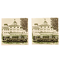 The Carolina Hotel Stone Coaster Set (2)