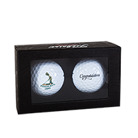 Congratulations-Titleist DT 2-Pack