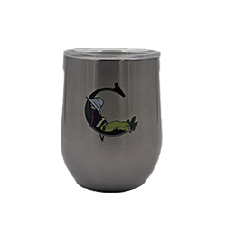 Corkcicle- The Cradle 12 oz. Gunmetal Stemless Cup