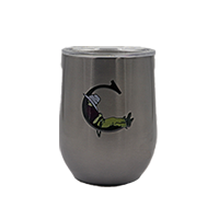 Corkcicle- The Cradle 12 oz. Gunmetal Stemless Cup_THUMBNAIL
