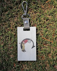 The Cradle Wooden Bag Tag THUMBNAIL