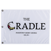 The Cradle Screenprint Flag