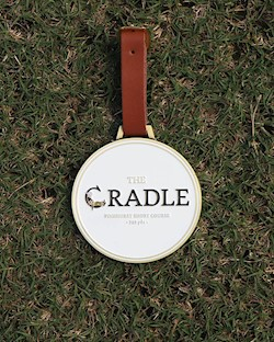 Engravable Bag Tag - The Cradle LARGE