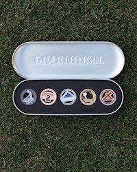 Pinehurst Custom Ball Marker Set THUMBNAIL