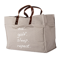 Eat Golf Sleep Tote