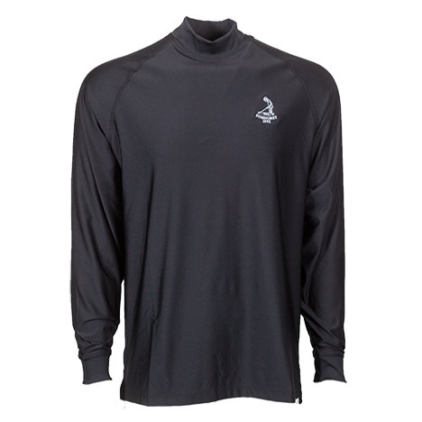 Men's FJ ProDry LS Mock-Black