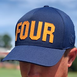 G/FORE - Four Cap - Navy/Orange LARGE