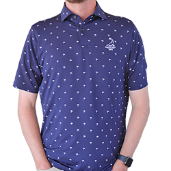 Fairway and Greene- Tides Print Polo MAIN