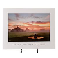 First Light at Pinehurst 11x14 THUMBNAIL