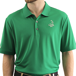 Pinehurst Private Label- Men's Solid Polo LARGE