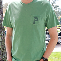 "'47 Brand- Men's Hudson ""P"" Pocket Tee SWATCH"