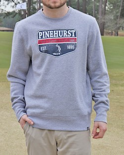 Men's '47 Brand Pinehurst Est. Headline Crew LARGE