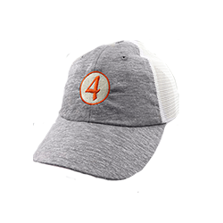 Ladies' No. 4 Circle Mesh Cap