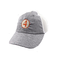 Ladies' No. 4 Circle Mesh Cap Mini-Thumbnail