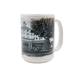 Carolina Hotel Black and White 15 oz. Mug Box
