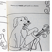 Marvin's 123's of Golf Coloring Book Mini-Thumbnail