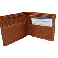 Smathers and Branson Needlepoint Wallet SWATCH