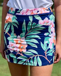 Ralph Lauren - Youth Girl's Island Floral Skort THUMBNAIL