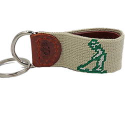 Smathers and Branson - Pinehurst Needlepoint Key Fob LARGE