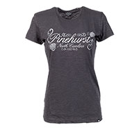 Ladies' Pinehurst Resort Scrum Tee (Charcoal)
