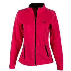Ladies' Deluxe Full Zip Jacket - Dark Watermelon