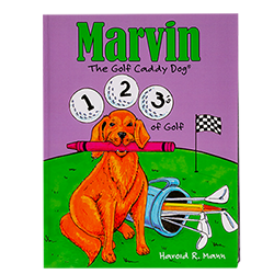 Marvin's 123's of Golf Coloring Book MAIN