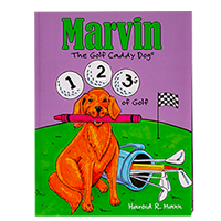 Marvin's 123's of Golf Coloring Book SWATCH