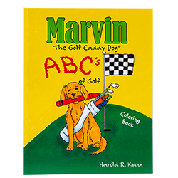 Marvin's ABC's of Golf Coloring Book LARGE