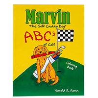 Marvin's ABC's of Golf Coloring Book THUMBNAIL