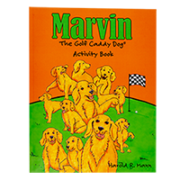 Marvin's Activity Book SWATCH