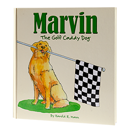 Marvin The Golf Caddy Dog LARGE