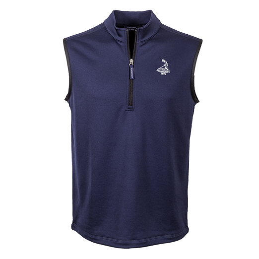 Pinehurst Private Label Half Zip Vest Mini-Thumbnail