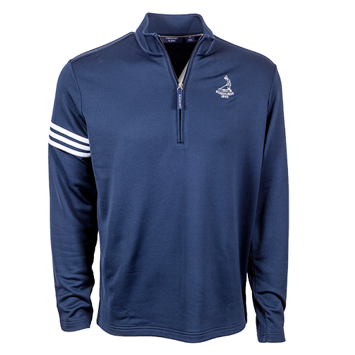 Pinehurst Private Label Half Zip 3 Stripe Pullover