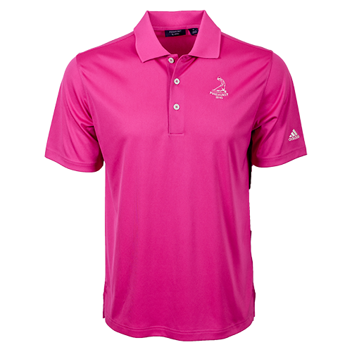 Pinehurst Private Label Solid Polo - Bahia Magenta