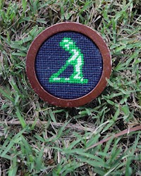 Smathers and Branson- Putter Boy Needlepoint Ballmarker THUMBNAIL