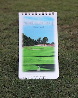 Pinehurst No. 1 Yardage Guide LARGE
