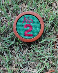 Smathers and Branson- No. 2 Needlepoint Ballmarker THUMBNAIL