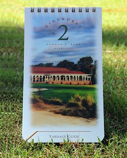Pinehurst No. 2 Yardage Guide LARGE