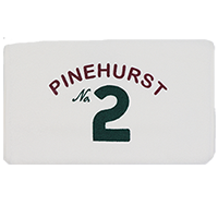 Pinehurst No. 2 Terry Caddy Towel SWATCH