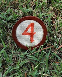 Smathers and Branson- No. 4 Needlepoint Ballmarker THUMBNAIL